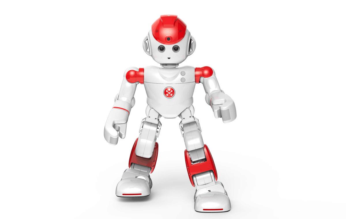 人形机器人阿尔法二代亮相 照顾儿童和宠物都在行高清图片