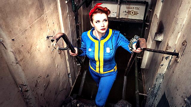 《辐射4》美女COS风情万种
