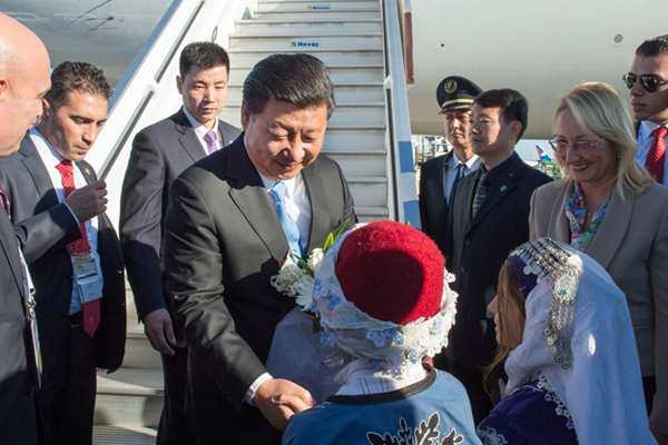 习近平抵达土耳其出席二十国集团领导人峰会
