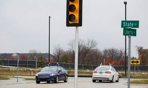 福特无人驾驶汽车即将在美接受实地测试