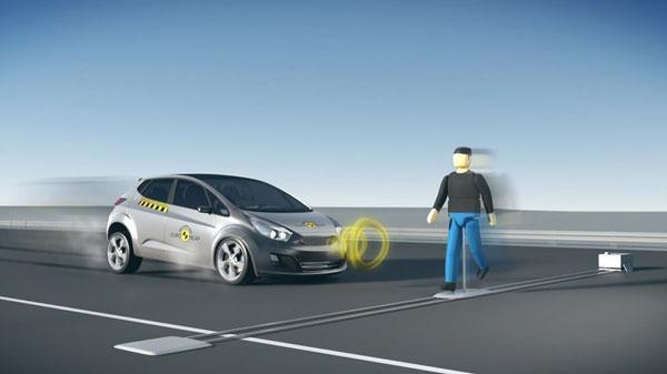 E-NCAP将行人探测技术纳入2016年测试项目