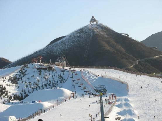 棋盘山冰雪大世界滑雪场
