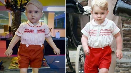 (双语)乔治小王子人形蛋糕获国际大奖 过程图惊悚
