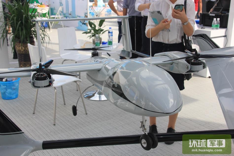 航展现场无人机采用美最先进鱼鹰旋翼机技术