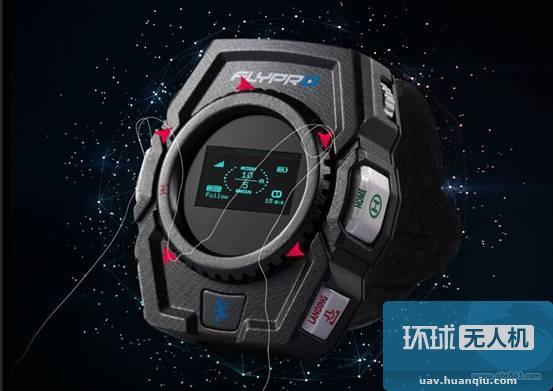 行业首款智能手表跟拍与避障无人机秒杀美国Lily