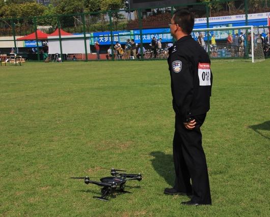 无人机警务技能大赛竞争如火如荼