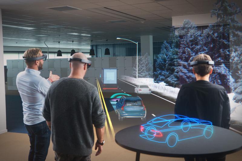 沃尔沃将与微软联手 全息眼镜助力汽车安全性
