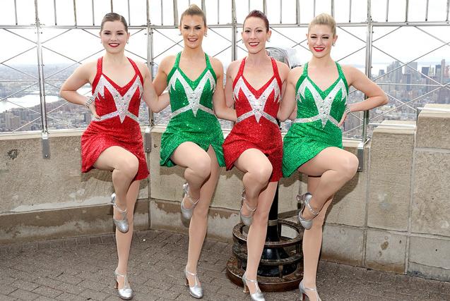 环球图片一周精选 火箭女郎舞蹈团助阵圣诞秀