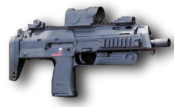 一代名枪:MP7鉴赏照