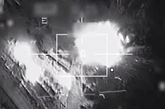 法国战机空袭IS目标视频公开