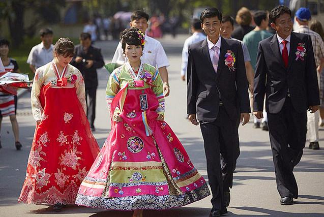 德国游客镜头记录朝鲜百姓生活