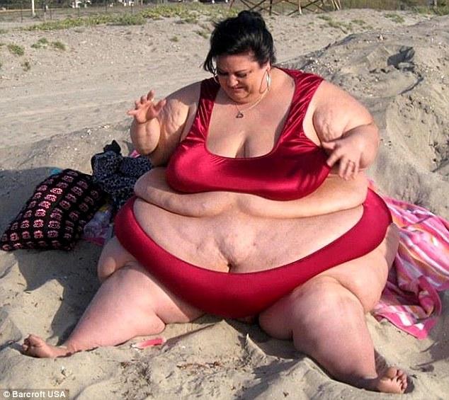 美女子曾为爱增肥 分手后猛减216斤