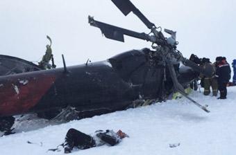 俄罗斯米-8直升机坠毁15人死亡