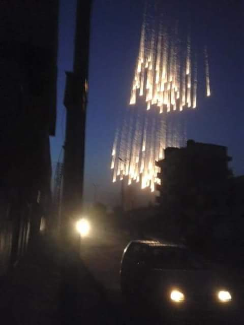 电闪雷鸣:俄军对叙利亚的恐怖分子使用燃烧弹