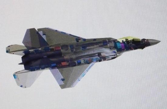 日本公布疑似三菱F-3五代机