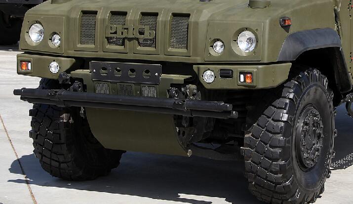 俄罗斯最强装甲越野车的做工罕见精致
