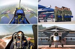 中国歼10与鹰狮和F-16同场比拼竞技