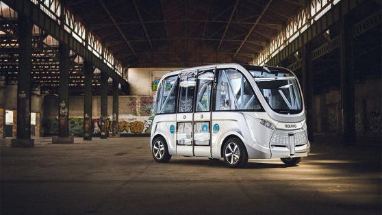 瑞士明年将试运行无人驾驶公交车,投币时看不到司机了