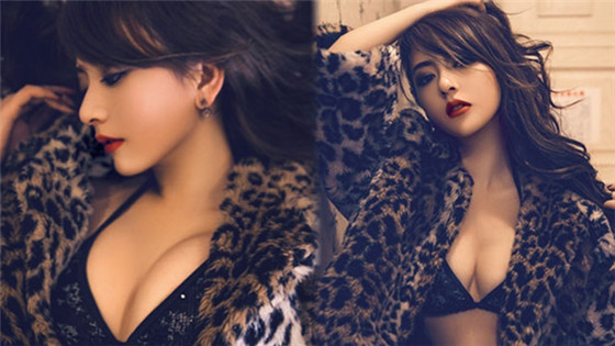 郭富城小23岁女友内衣写真性感妖娆