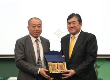 三井物产社长开讲北京大学三井创新论坛