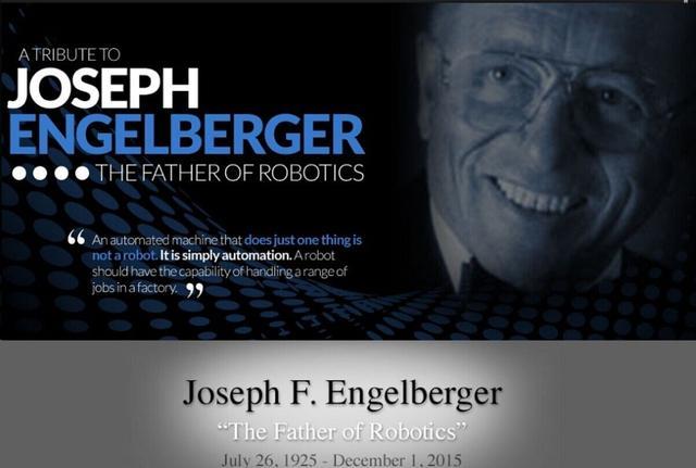 """""""机器人之父""""恩格尔伯格逝世 享年90岁"""