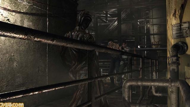 《生化危机0:高清重制版》恐怖怪物截图 毛骨悚然