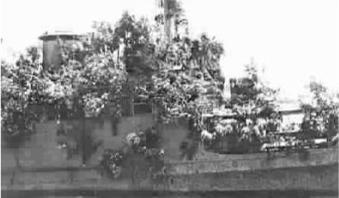 """荷兰军舰""""换马甲""""逃脱日军追杀:伪装成小岛"""