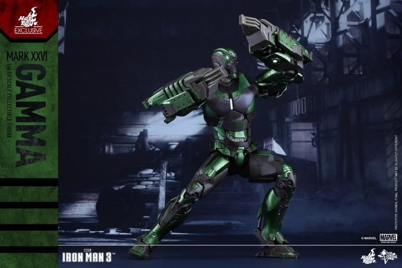 绿色的钢铁侠见过吗?《钢铁侠3》MK26限定款