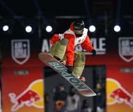 """""""沸雪""""北京世界单板滑雪赛落幕 加拿大选手夺冠"""