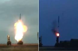 俄军不分白天黑夜训练S400导弹发射