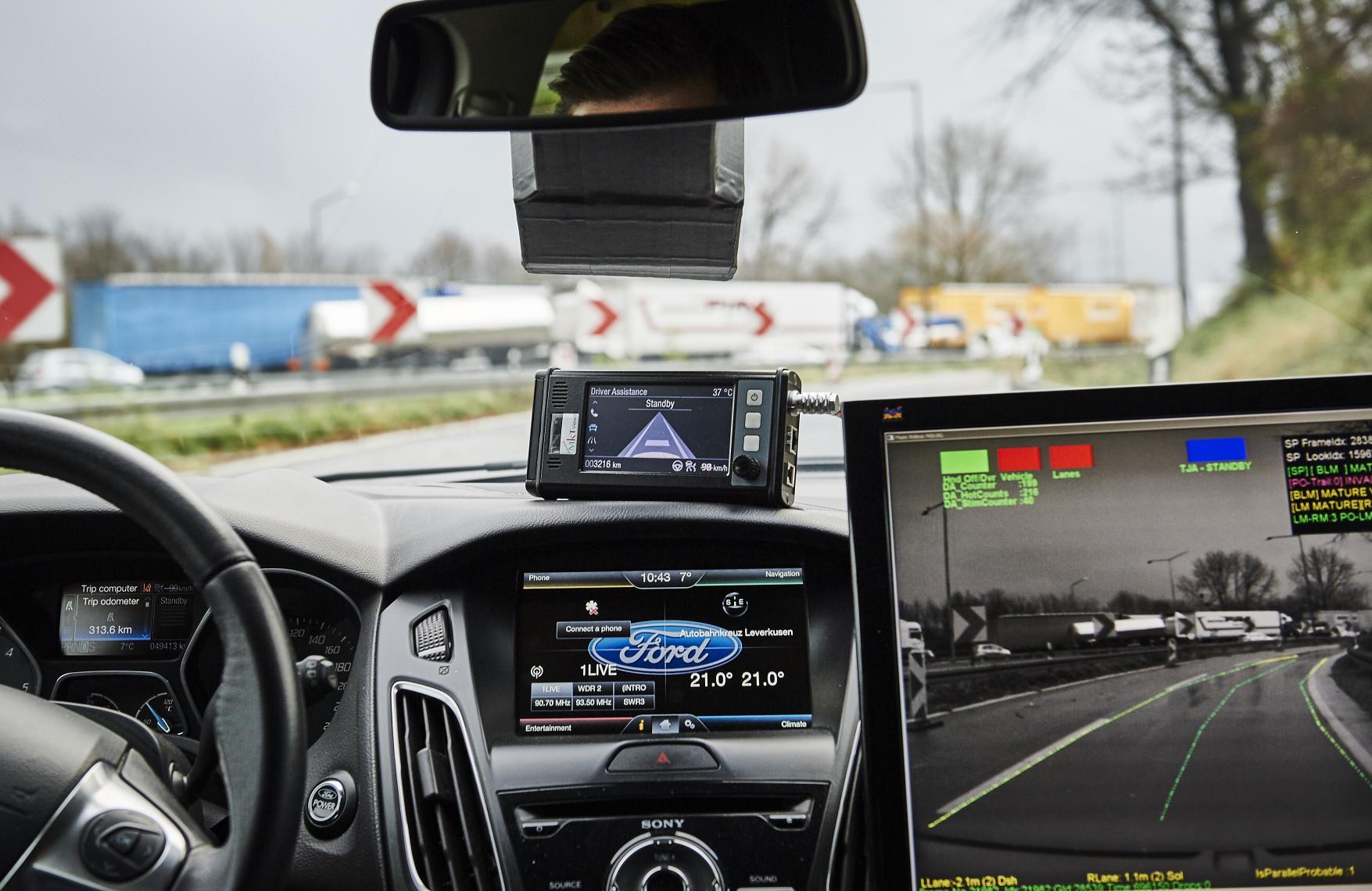 福特推进无人驾驶汽车研发 未来新车将应用高清图片