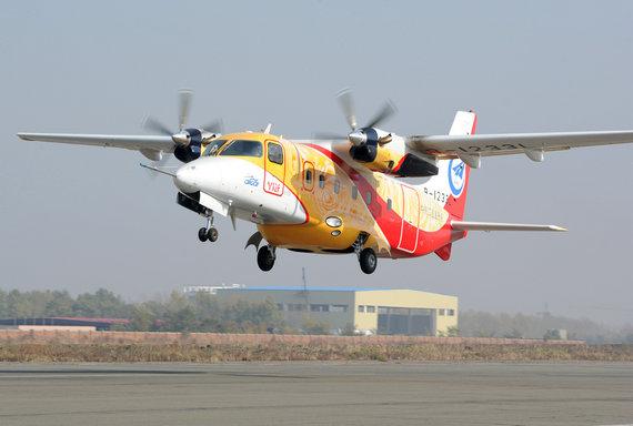 运12F飞机获CAAC型号合格证 已签订单近50架