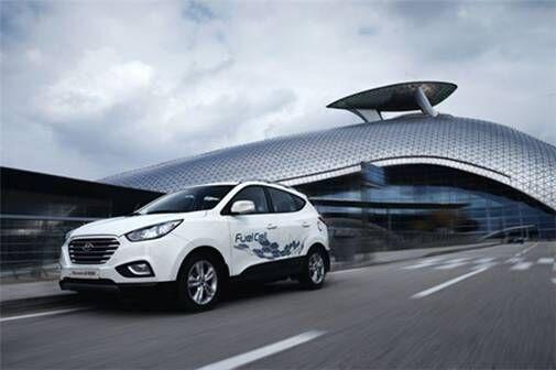 现代氢燃料电池ix35获苏格兰设计/创新年度车型奖