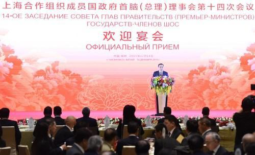 李克强赴郑州出席上合峰会 河南烩面招待来宾