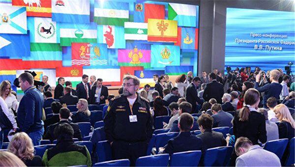 普京年度记者会今日举行 参会人数创纪录