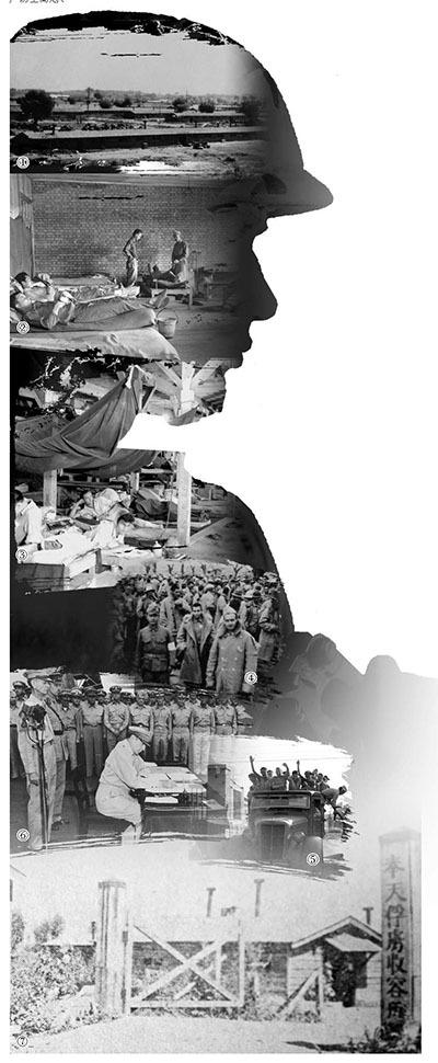 """日军""""战俘营死亡率""""是德国战俘营13.3倍"""
