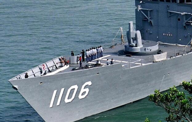 中国台湾海军的顶梁家当