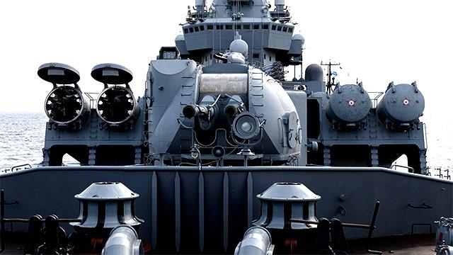 实拍俄赴叙利亚黑海舰队旗舰