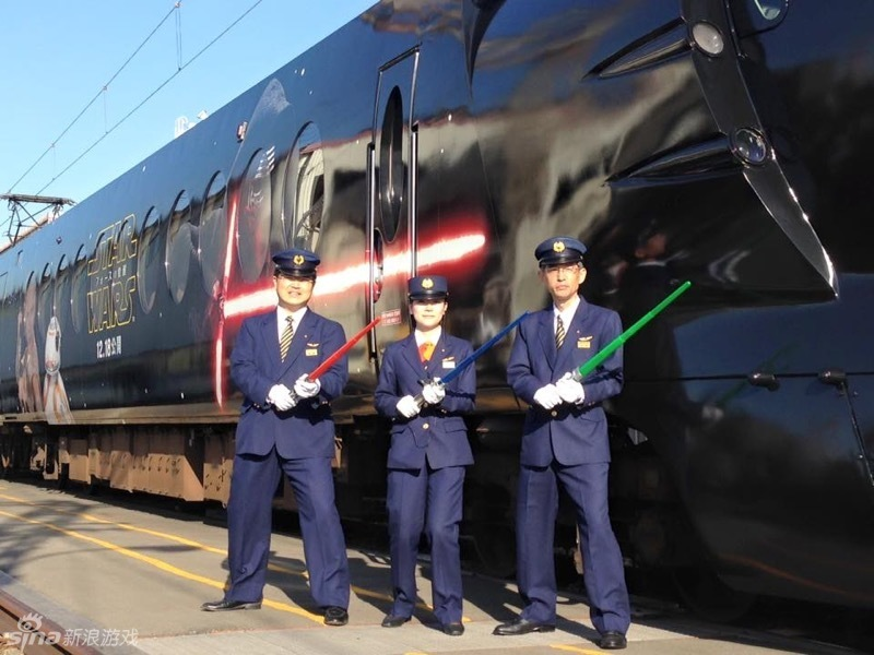 日本《星球大战》主题列车