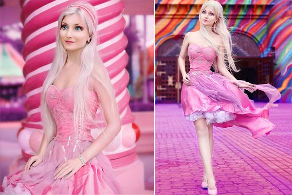 巴西女子外形酷似芭比娃娃 称从未整容