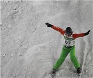 滑雪空中技巧世界杯鸟巢落幕 中国队团体赛夺冠