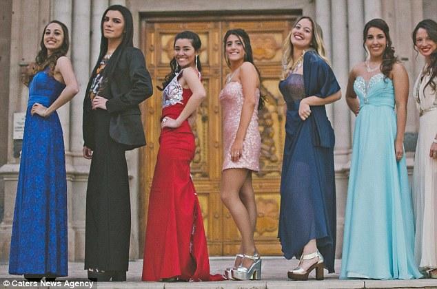 阿根廷17岁变性少年首次以女孩身份高调亮相毕业舞会