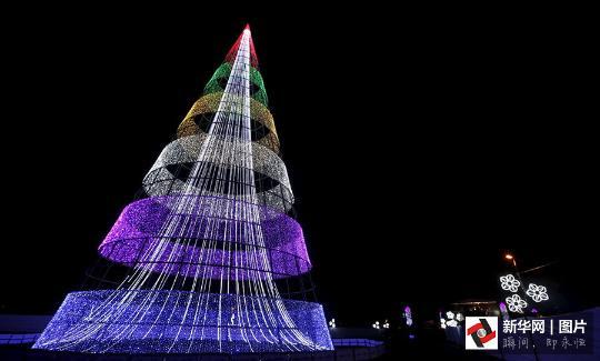 """世界各国圣诞树""""主要看气质"""""""