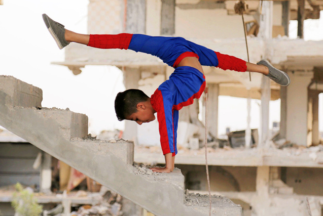 无处安放的青春:巴勒斯坦青年的跑酷梦
