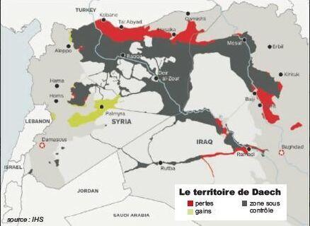 IS今年控制区域缩减14%恐怖阴影不降反增
