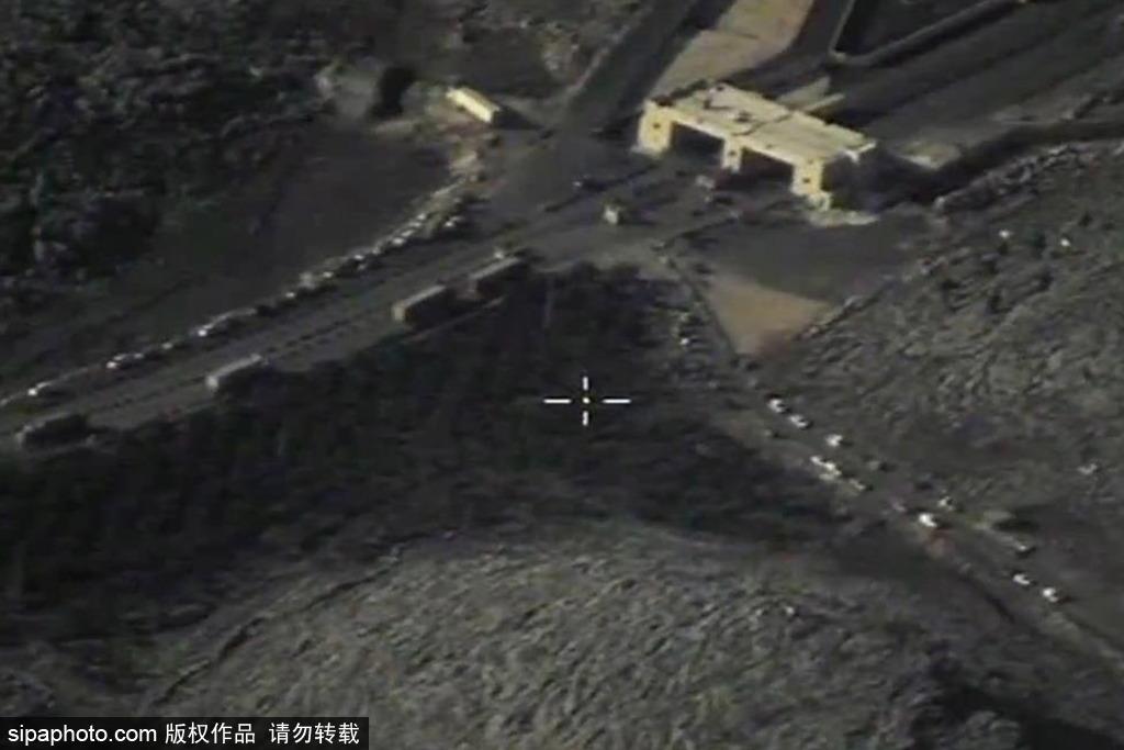 俄罗斯国防部公布土耳其叙利亚边境运输石油证据