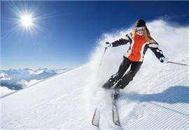 滑雪中正确摔倒防受伤