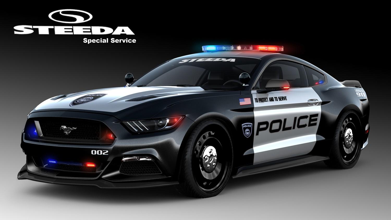 福特490马力野马改装警车 蓄势待发 汽车中国最新优惠报价