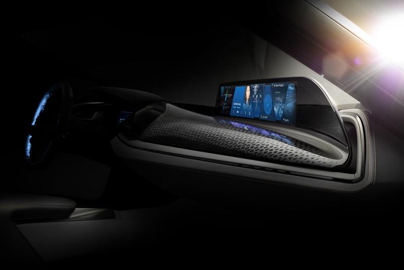 宝马全新概念车预告图发布 展示非触屏技术
