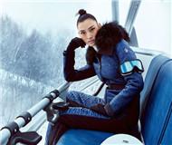 滑雪日记:国际名模张丽娜演绎冰雪中的时尚